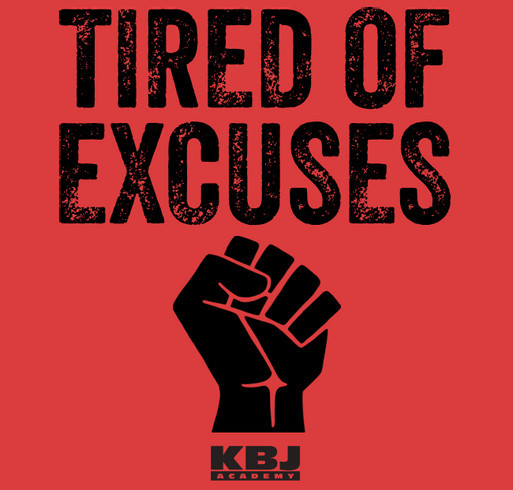 Tired of Excuses - We Matter!!! shirt design - zoomed