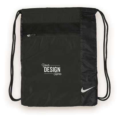 Nike Drawstring Bag - Black / Black
