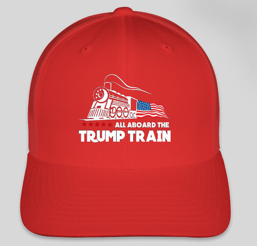 Trump Train Hat Custom Ink Fundraising 3327a1fb152