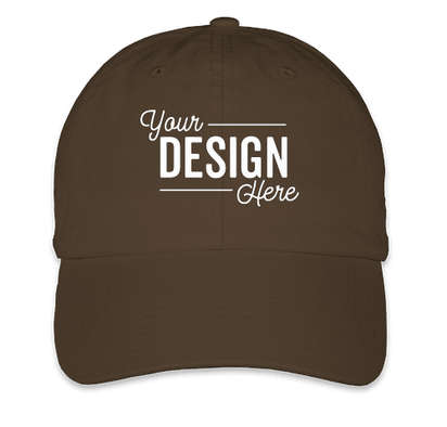 Bayside USA-Made Cotton Twill Hat - Chocolate