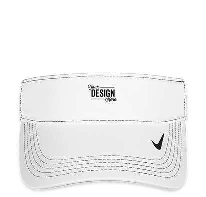 Nike Dri-FIT Swoosh Performance Visor - White