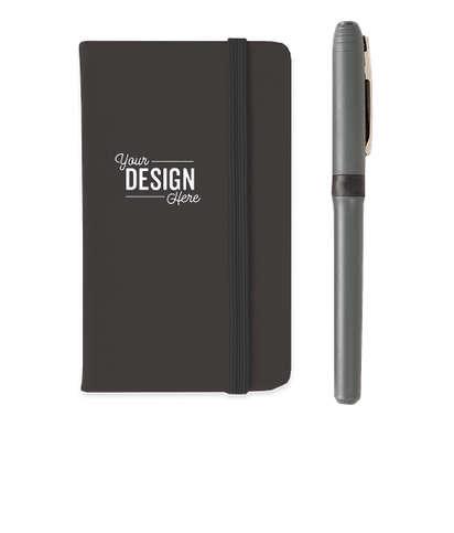 Hard Cover Mini Pocket Notebook - Black