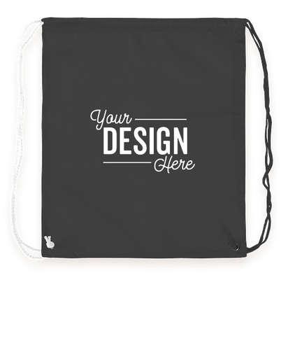 Spirit Two-Tone Drawstring Bag - Black / White