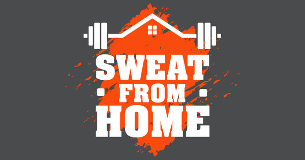 sweat from home