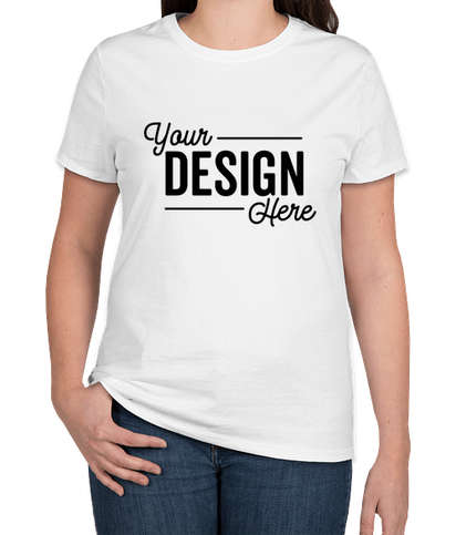Hanes Women's Nano T-shirt - White