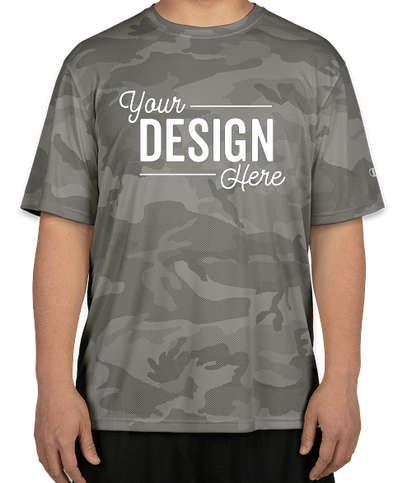 Champion Camo Performance Shirt - Stone Grey Camo