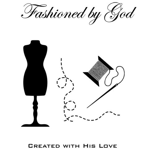Fashioned by God: Created with His Love Tote Bag Custom