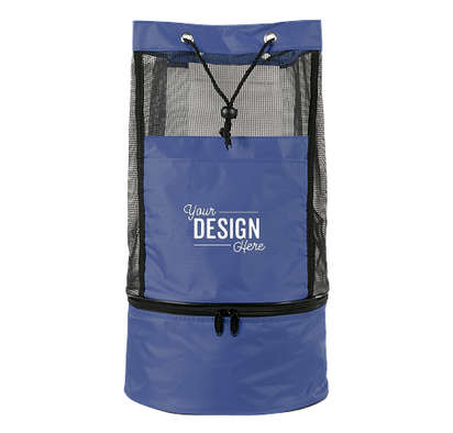 Collapsible Backpack Cooler Bag - Royal Blue
