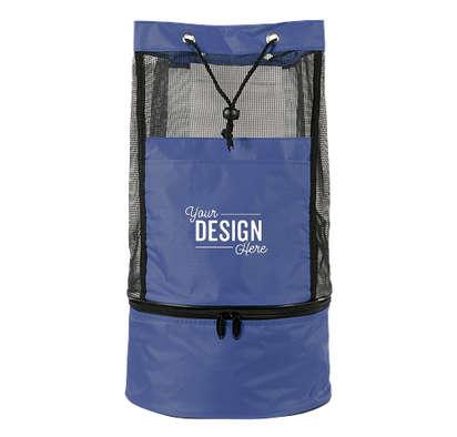 Collapsible Backpack Cooler Bag - Royal Blue