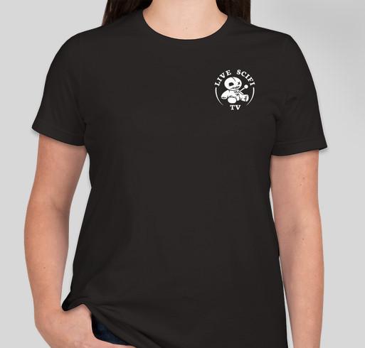 LiveScifi.TV Fundraiser Fundraiser - unisex shirt design - front