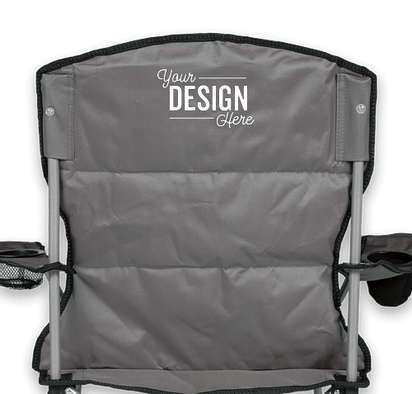 Stripe Comfort Chair - Black / Charcoal