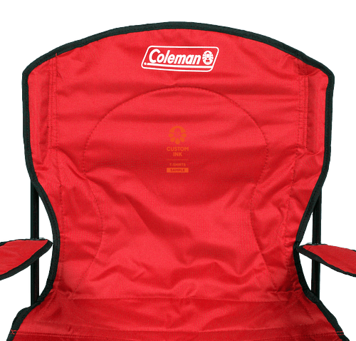 Coleman ® Oversized Cooler Quad Chair - Red