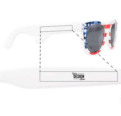 Patriotic Sunglasses - USA Flag