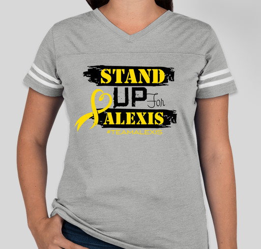 Woman 39 s sport team alexis shirt custom ink fundraising for Team sport shirts custom