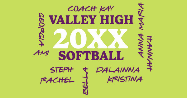 Valley High Softball