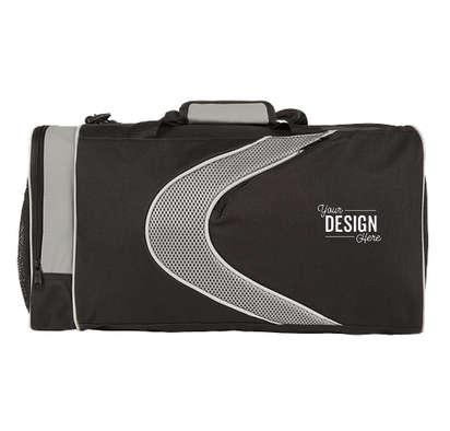 Sports Gym Bag - Grey