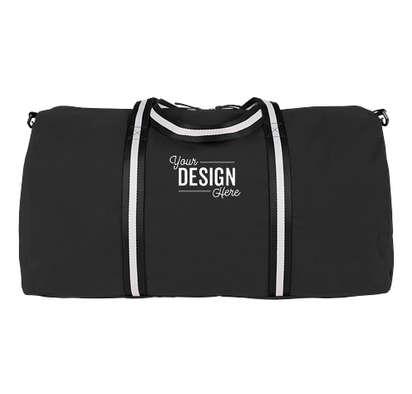 Large Cotton Weekender Bag - Black