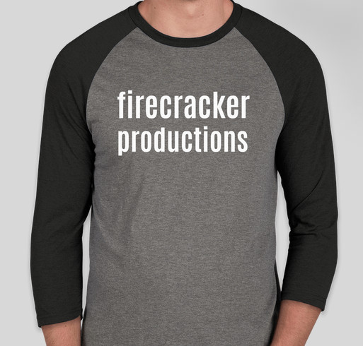 Firecracker Productions Fundraiser - unisex shirt design - front