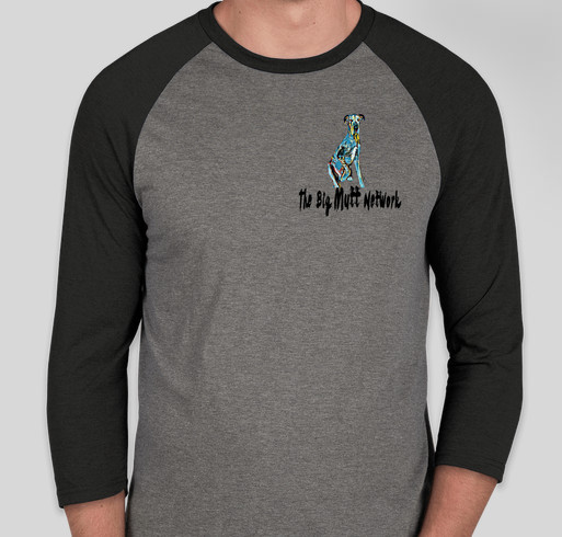 Love the mutt you're with Fundraiser - unisex shirt design - front
