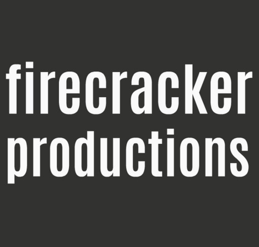 Firecracker Productions shirt design - zoomed