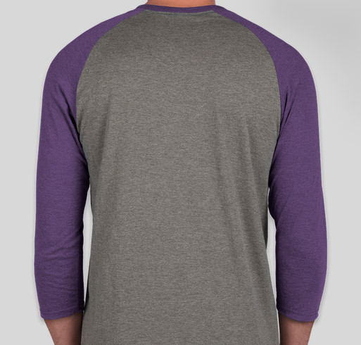 Purple Playground Ready for Anything Fundraiser - unisex shirt design - back