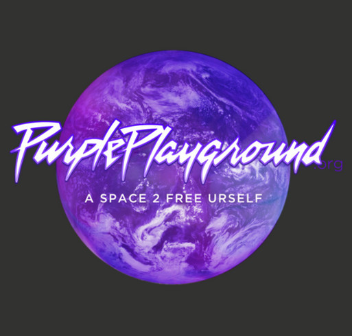 Purple Playground Ready for Anything shirt design - zoomed