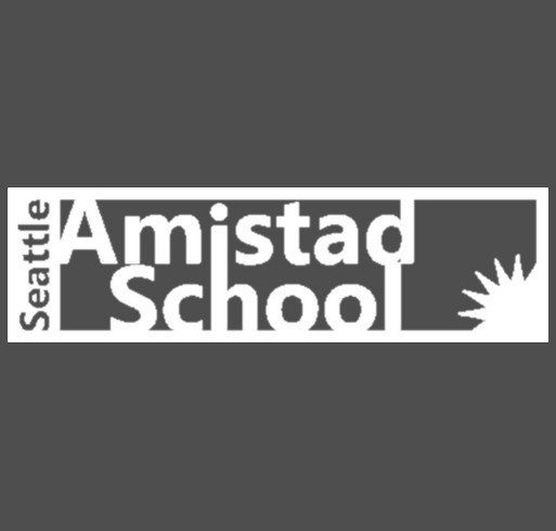 Seattle Amistad School shirt design - zoomed