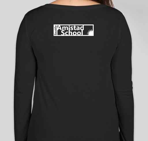 Seattle Amistad School Fundraiser - unisex shirt design - back