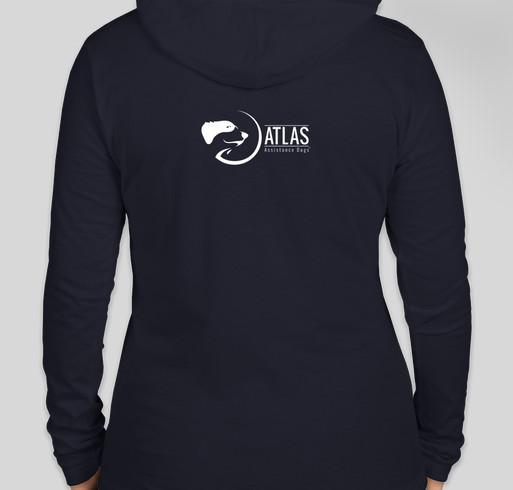 Support Atlas Assistance Dogs Fundraiser - unisex shirt design - back