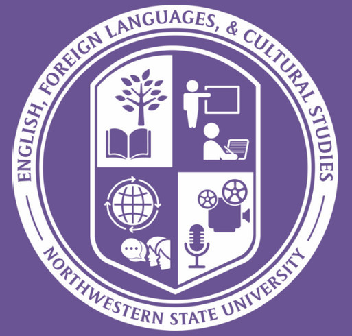 NSU - English, Foreign Language, and Cultural Studies shirt design - zoomed