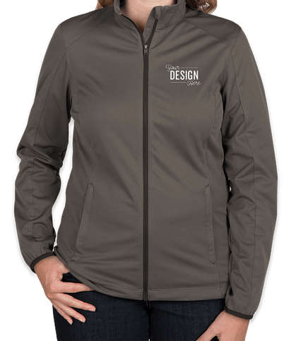 Port Authority Women's Lightweight Active Soft Shell Jacket - Grey Steel