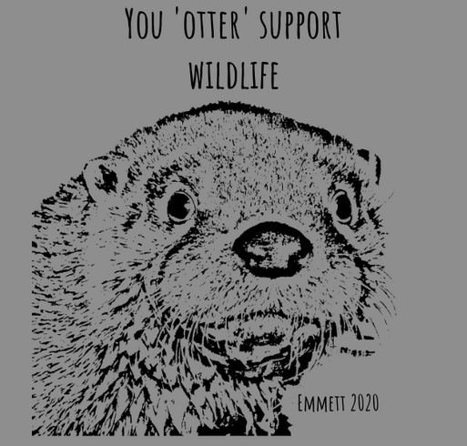 Otter shirts! shirt design - zoomed