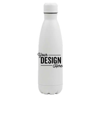 17 oz. Copper Vacuum Insulated Water Bottle - Matte White