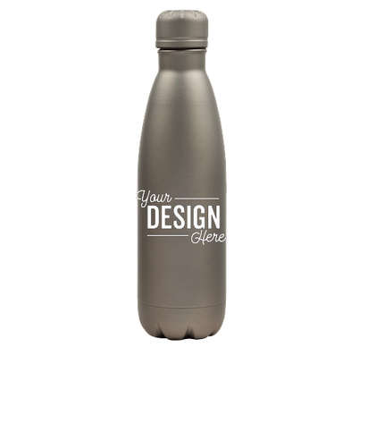 17 oz. Copper Vacuum Insulated Water Bottle - Matte Gray