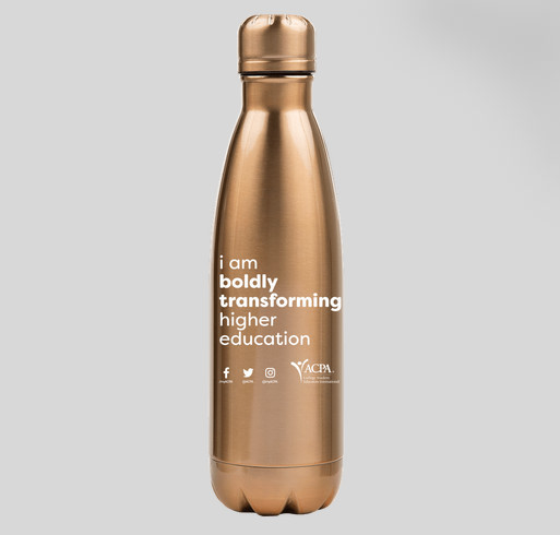 17 oz. Copper Vacuum Insulated Water Bottle