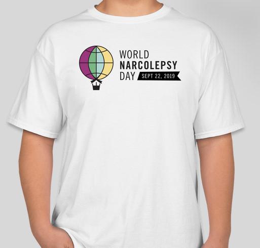Celebrating Inaugural World Narcolepsy Day Fundraiser - unisex shirt design - front