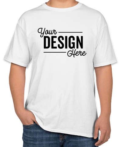 Hanes 100% Cotton T-shirt - White