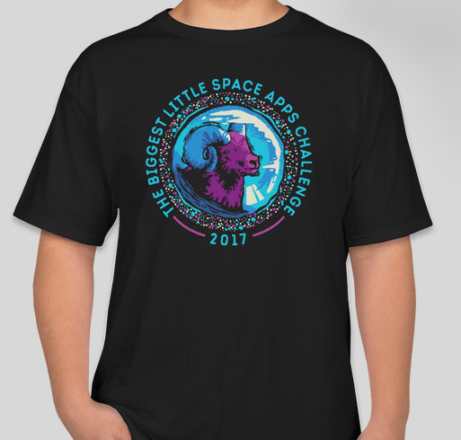 Space apps reno 2017 limited edition t shirt custom ink for Reno t shirt printing