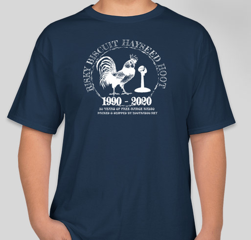 Final Risky Biscuit Hayseed Hoot T-Shirt! Fundraiser - unisex shirt design - small
