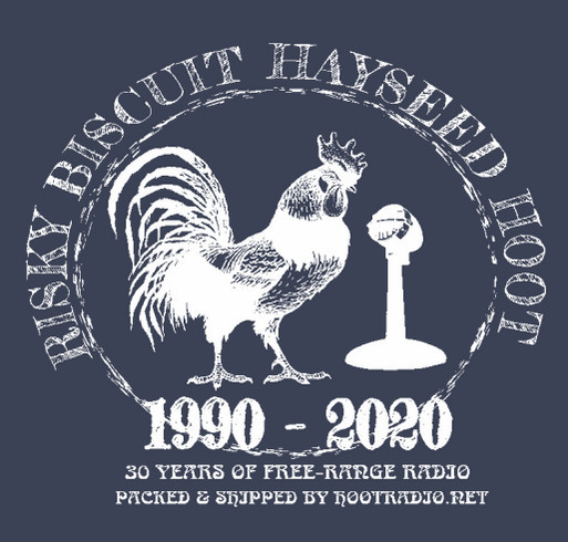 Final Risky Biscuit Hayseed Hoot T-Shirt! shirt design - zoomed