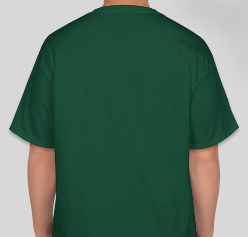 Otterbein Public Library Fundraiser - unisex shirt design - back