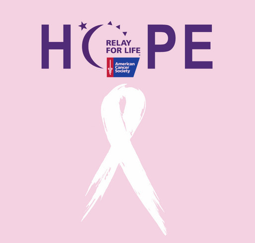 Relay For Life shirt design - zoomed