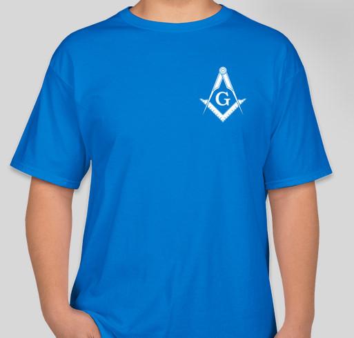 Knight of the Quarantine Fundraiser - unisex shirt design - back