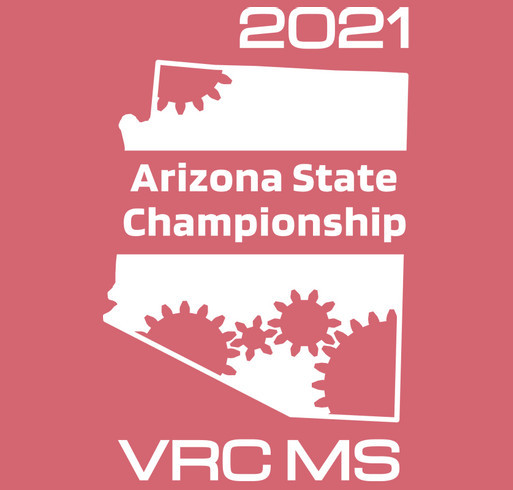Arizona VRC Middle-School State Championship shirt design - zoomed