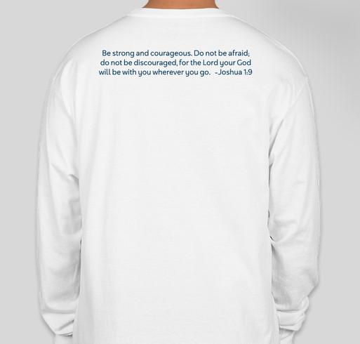 Chapelgate PAC (Parent Advisory Committee) Fundraiser - unisex shirt design - back