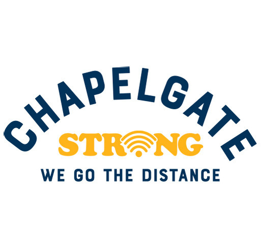 Chapelgate PAC (Parent Advisory Committee) shirt design - zoomed