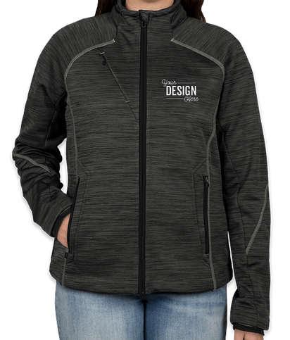 North End Women's Tech Fleece Jacket - Carbon / Black
