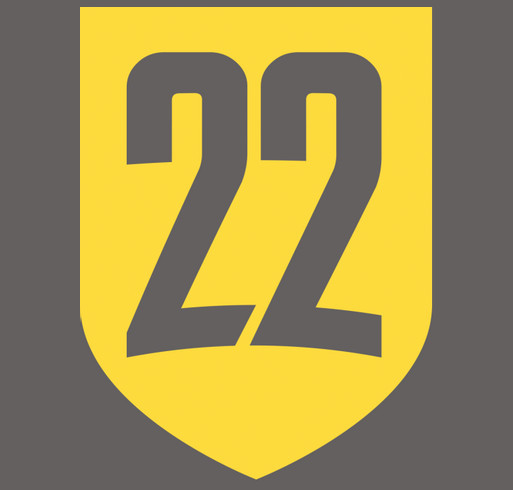 2020 Ruck 22 March to End Veteran Suicide shirt design - zoomed