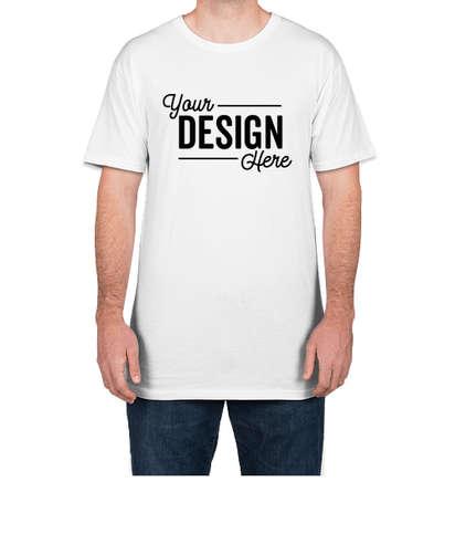 Bella + Canvas Urban Longer Length T-shirt - White