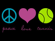 Peace. Love. Tennis.